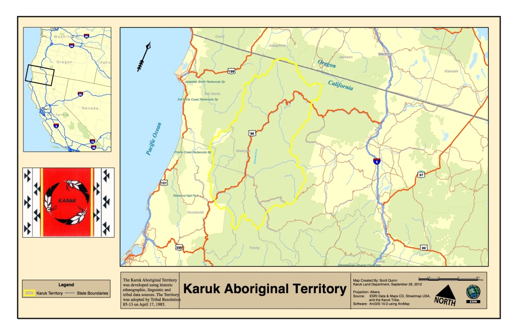 Karuk Aboriginal Territory 11x17